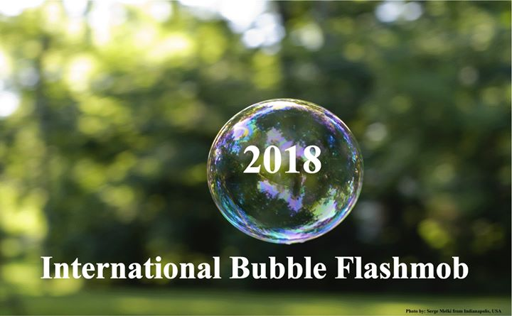 2018 International Bubble Flashmob