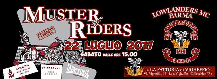 Muster Of Riders 2017 By Lowlanders Mc Parma At La Fattoria Di
