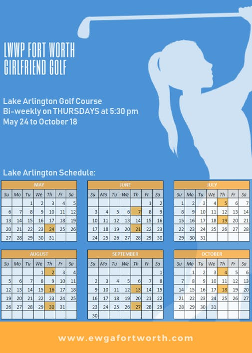 Girlfriend Golf  Lake Arlington GC  Oct 4