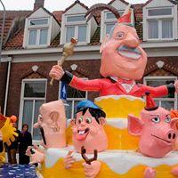 Onthulling kunstwerk 5 x 11 jaar openbaar carnaval