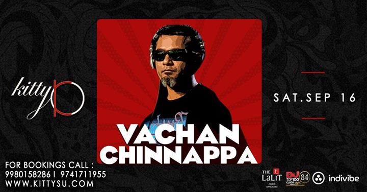 FUNK on the Terrace w Vachan Chinnappa at Kitty Ko  Sept 16th