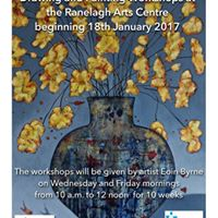 Drawing &amp Painting Workshops at the Ranelagh Arts Centre