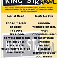 Loz Campbell  Band Live at The King STKrawl