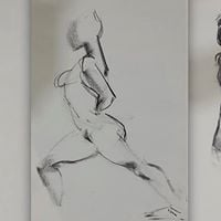 Friday Evening Untaught Life Drawing -13