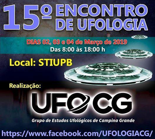 15 Encontro de Ufologia