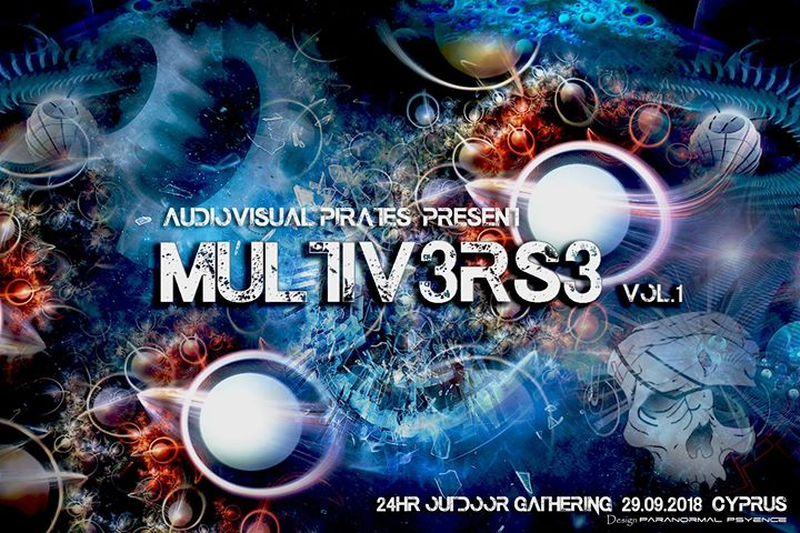 Audiovisual Pirates present Multiv3rs3 vol.1