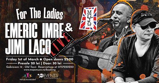 Emeric Imre live for the ladies Mojo