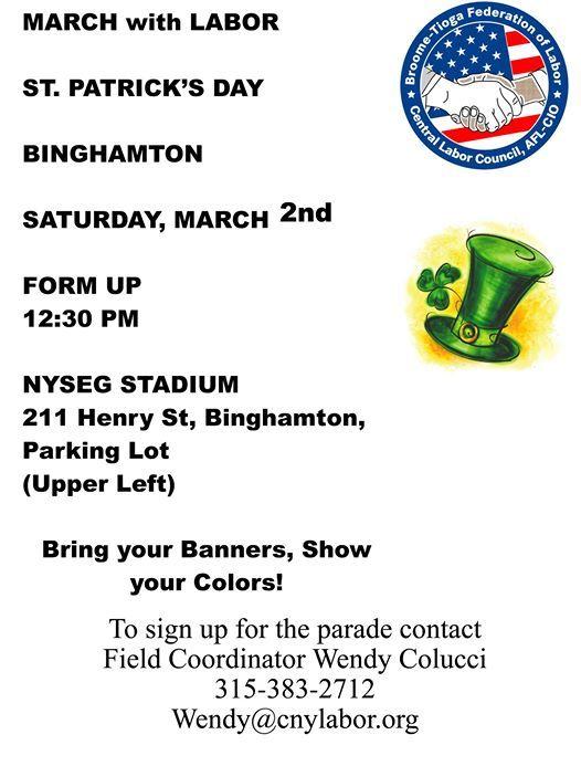 Binghamton St. Patricks Day Parade