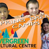 Spring Break Arts Camps