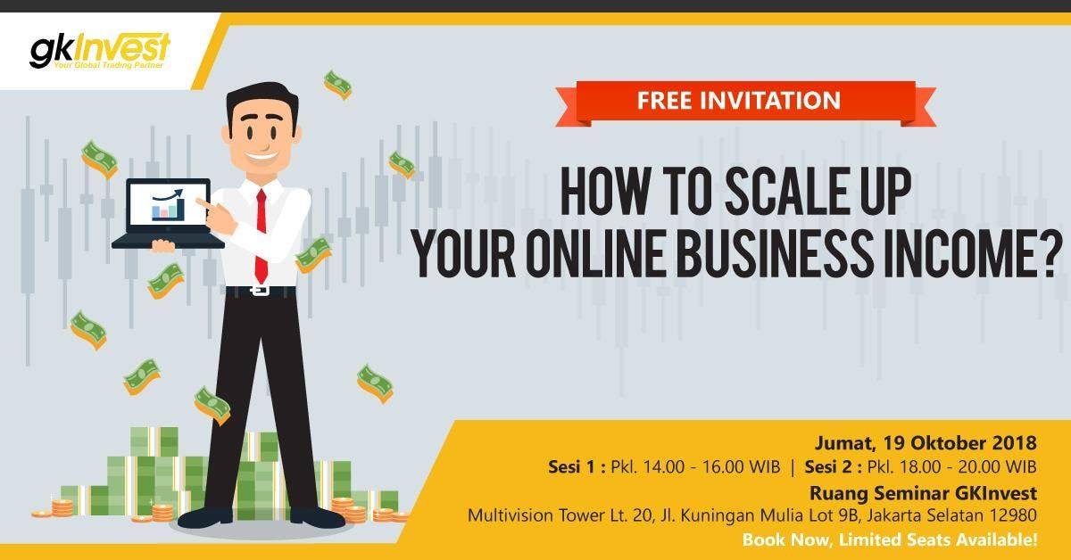 Free Seminar  How to Scale Up Your Online Business Income