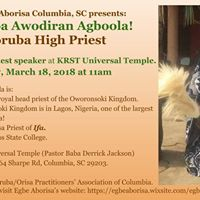 Araba Awodiran Agboola Talks in Columbia