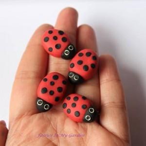 Fairy Garden Miniatures with Polymer Clay