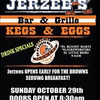 Browns 9am Game Kegs &amp Eggs