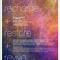 Recharge Restore Revive