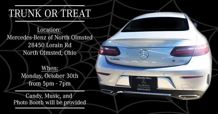 Mercedes Benz Of North Olmsted Trunk Or Treat
