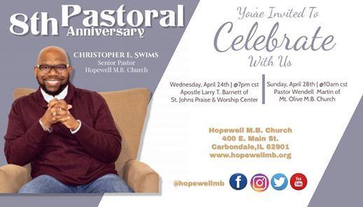 8th Pastoral Anniversary