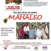 Madagascar  lhonneur - 45 ans du groupe Mahaleo