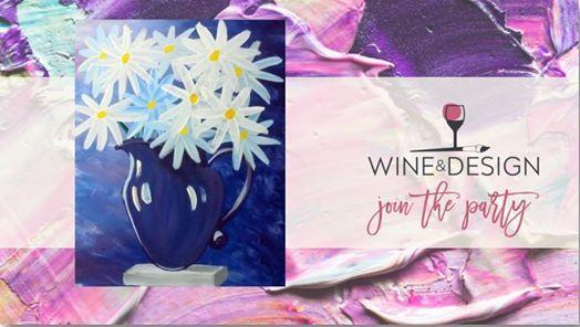 Daisies In A Vase At Wine Design Culpeper Va Virginia