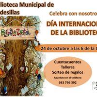 Cuentacuentos y taller &quotDa Internacional de la Biblioteca&quot.