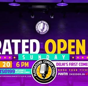 Curated Comedy Open Mic