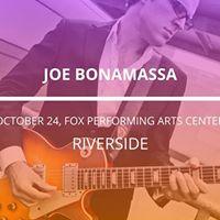 Joe Bonamassa in Riverside