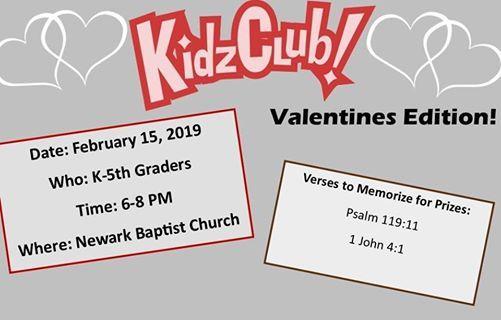 Kidz Club Valentines Edition