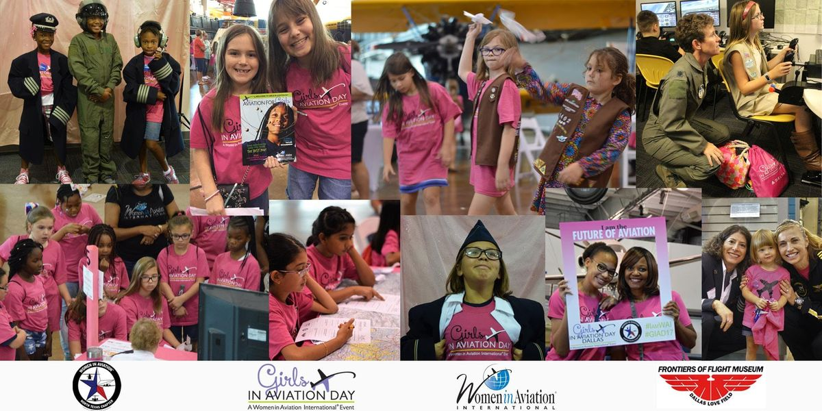 Girls in Aviation Day Dallas - 2018