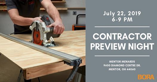 Contractor Preview Night at New Mentor Menards | Grand River