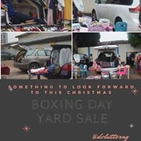 Boxing Day Car Boot Sale