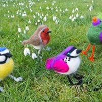 Needle Felted Birds Workshop