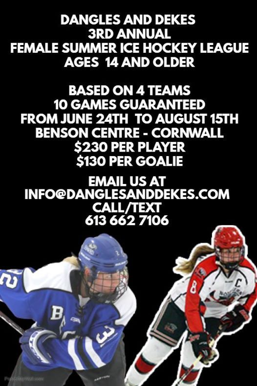 3rd Annual Summer Female League (Ages 14 and up) Registration