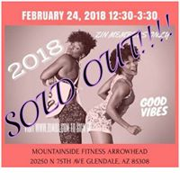 SOLD OUT Zumba Jam Session with Toya and Cat
