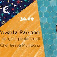 Poveste Persana - atelier de gatit pentru copii