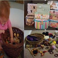 Treasure Baskets-Loose Parts for Infants &amp Toddlers