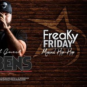 DJ BENS Freaky Friday Vendredi 21 Dcembre EtoileClub