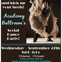 September Social Dance Party