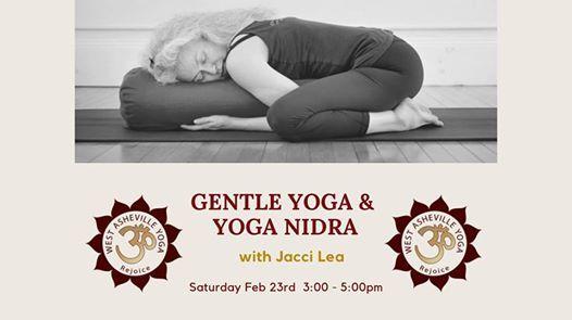 Gentle Yoga & Yoga Nidra with Jacci