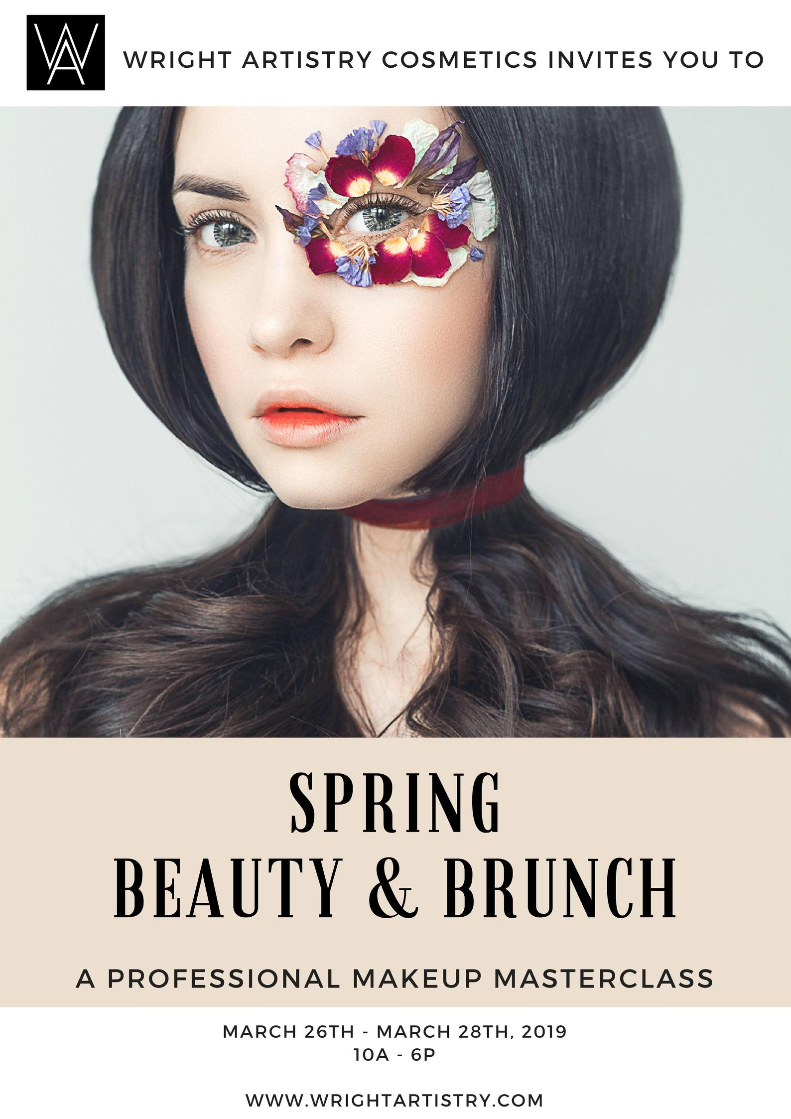 Wright Artistry Spring Beauty & Brunch Professional Makeup