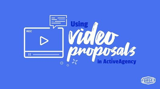 LIVE Webinar Using Video Proposals in ActiveAgency