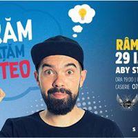 Stand up comedy show cu TeoRM Vlcea