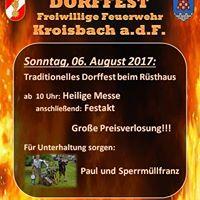 Dorffest der FF Kroisbach an der Feistritz