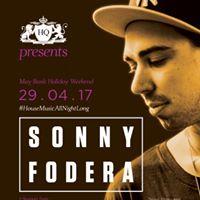 Sonny Fodera at HQ - Sat 29th April 17