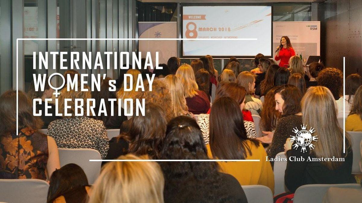INTERNATIONAL WOMENS DAY CELEBRATION 2019 - Amsterdam