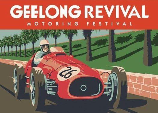 Geelong Revival Car Display