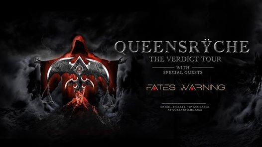 Queensrche with Fates Warning at Concord Music Hall