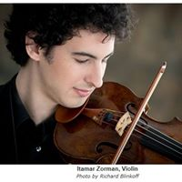 Itamar Zorman Violinist with Kwan Yi Pianist