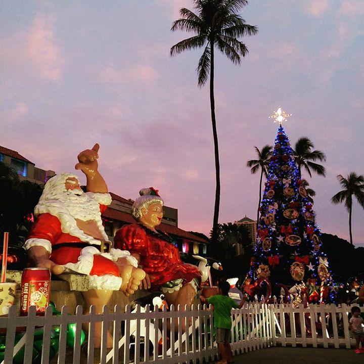2017 Honolulu City Lights Opening Night & Parade at Honolulu Hale ...