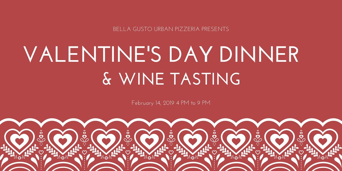 Valentines Day Dinner & Wine Tasting