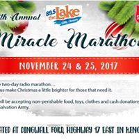 27th Annual CJRL Miracle Marathon