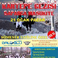 21 Ocak 2017 Pazar Sapanca-Kartepe-Maukiye Gezisi